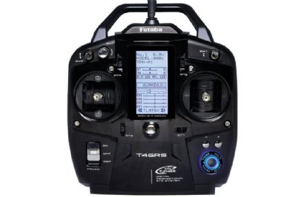 Futaba T4GRS - 2.4GHz T-FHSS 4-Channel Combo including R304SB with Telemetry (Dry)